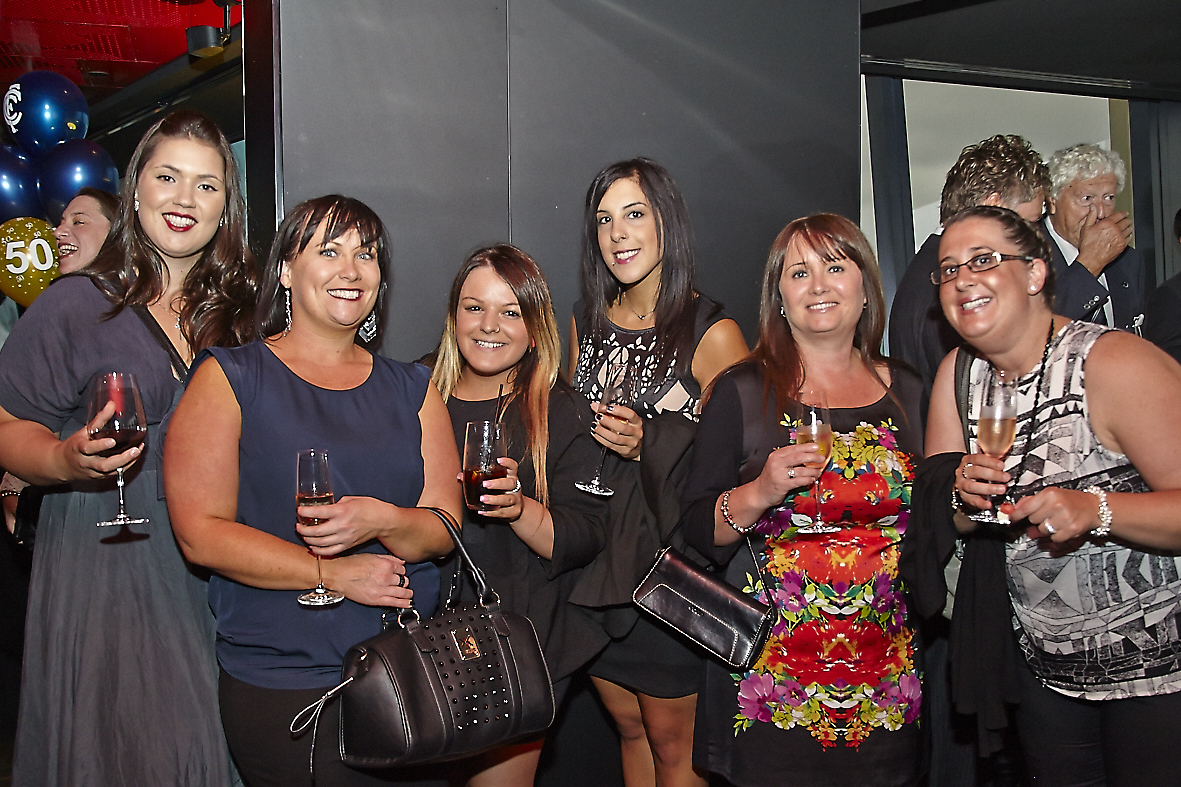 The gorgeous gals from Essendon Hyundai - the life of the party!
