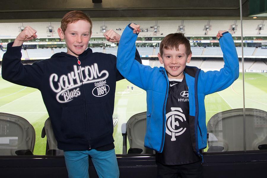 Carlton vs Gold Coast 2014