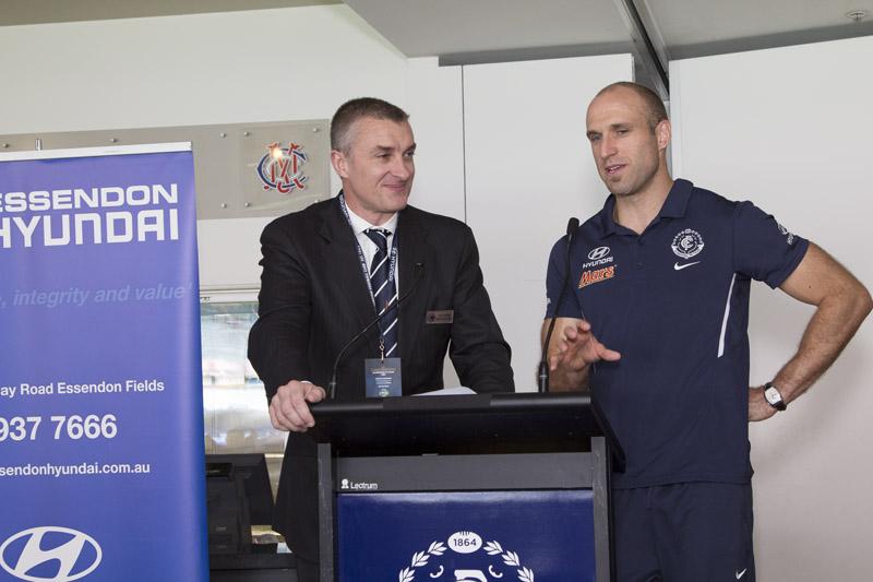 Carlton vs Melbourne 2014